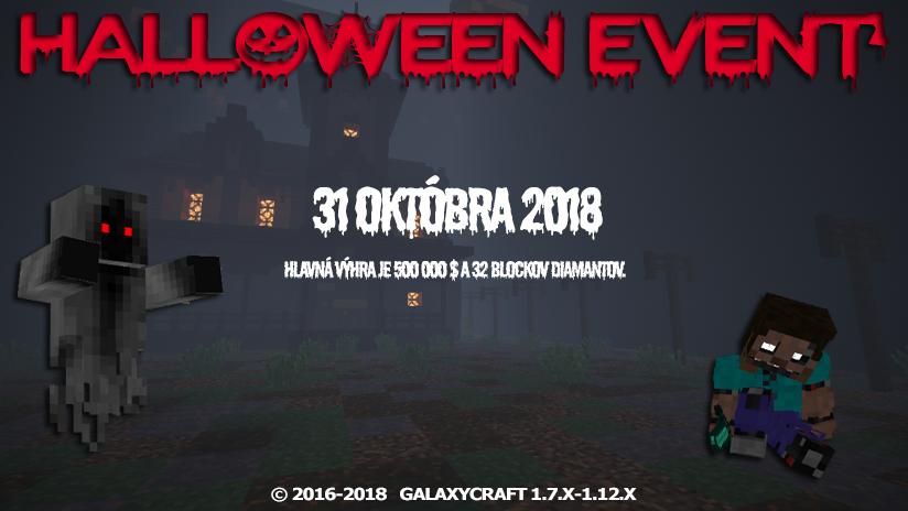 🎃 GalaxyCraft Halloweenský Event 🎃