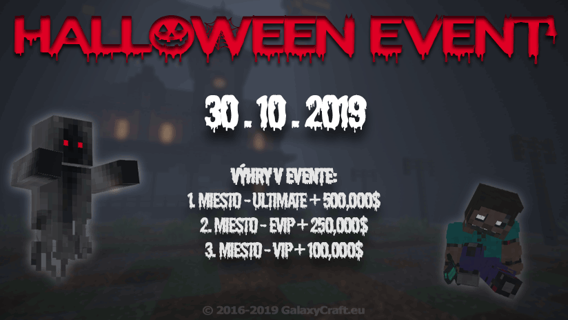 🎃 Halloween Event | Október 2019 🎃