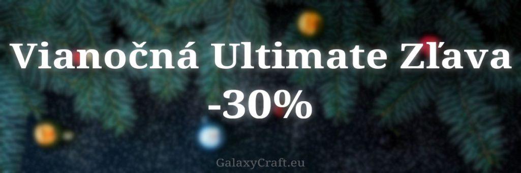 Vianočná Ultimate Zľava | December 2019
